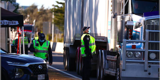 Infected Queensland truck driver raises concern amongst the community