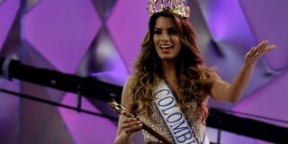 Miss Colombian Paulina Vegas was crowned Miss Universe